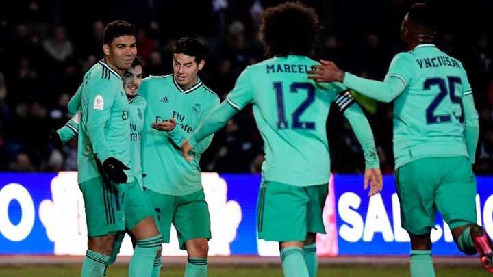 Los goles del triunfo del Real Madrid en Copa del Rey
