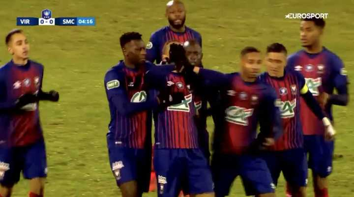 Yacine Bammou le dedicó su gol a Emiliano Sala