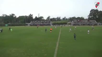 Los goles de la Novena de River vs. Boca