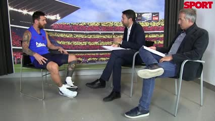 La entrevista completa con Messi
