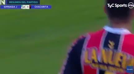 El 2-1 de Gimnasia (J) a Chacarita