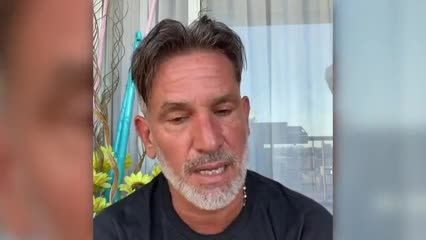 Diego Díaz confirmó que es COVID positivo