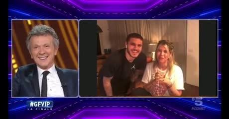 Mauro y Wanda en el final de GH VIP Italia