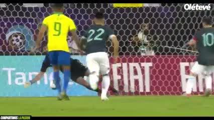 Presentación goles de Messi.