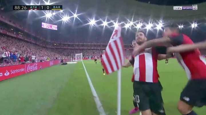 Golazo del Bilbao sobre el final