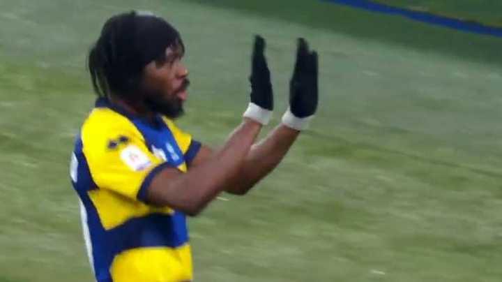 Gervinho marcó el segundo del Parma