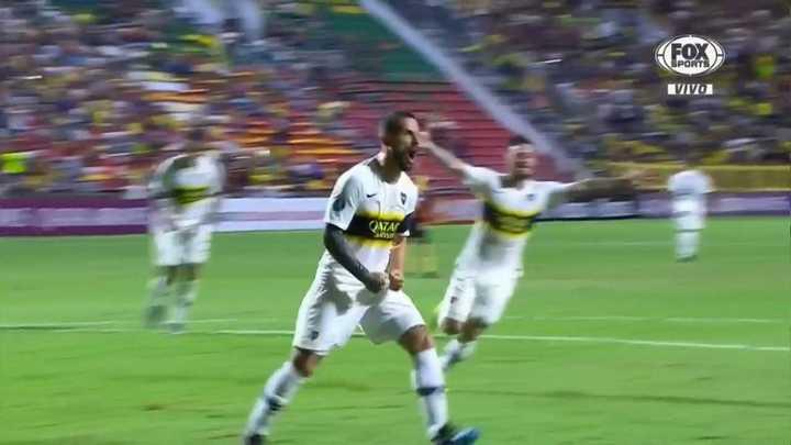 Reaccionó Boca: Benedetto marcó el gol del empate