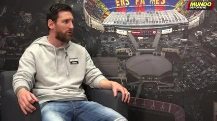 Messi, en febrero 2020:
