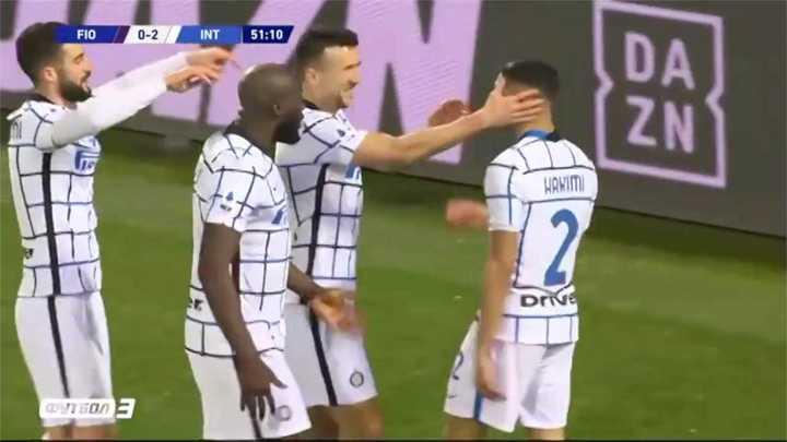 La victoria del Inter ante la Fiore