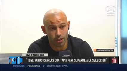 """""""Con Chiqui he tenido varias charlas para sumarme a la Selección"""""""