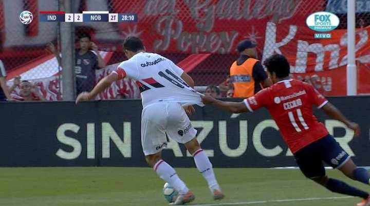 El penal que no le cobraron a Newell's