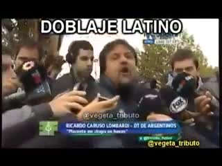 La pelea de Caruso con Placente doblada al latino que se volvió viral