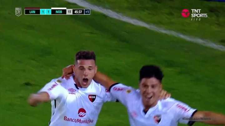 Lo empató Newell's con gol de Cristaldo