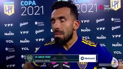 La palabra de Carlitos Tevez
