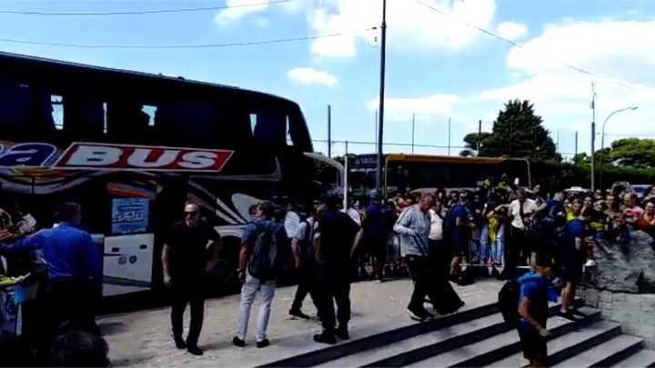 Boca llegó a Mar del Plata