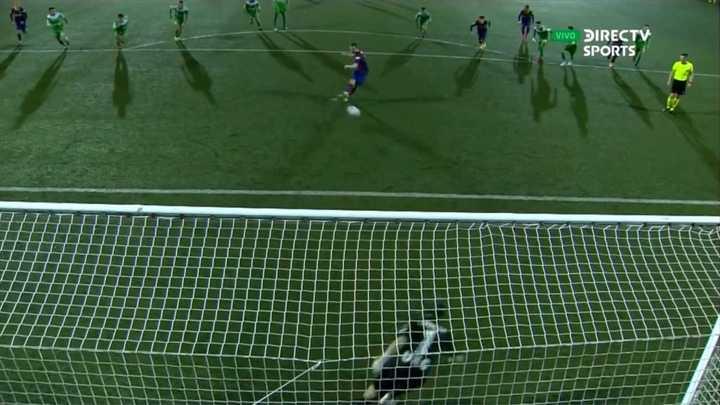 El Barcelona erró dos penales