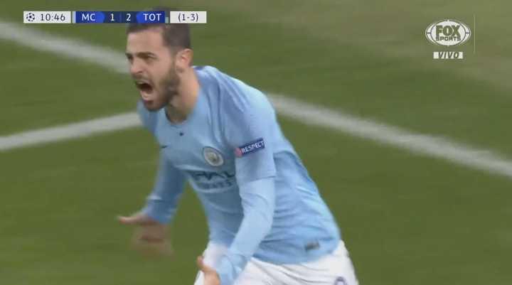 Bernardo Silva empató para el City