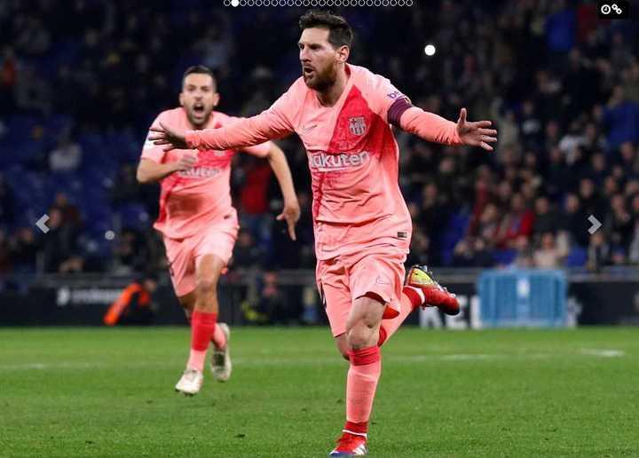 El golazo de Messi