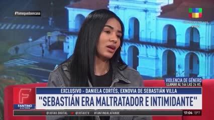 """Daniela Cortés: """"De acá no salís; si salís, salís muerta"""""""