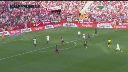 Messi empató el partido y marcó doblete
