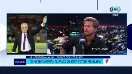 Beto Alonso y una hipotética invitación de Riquelme a la Bombonera