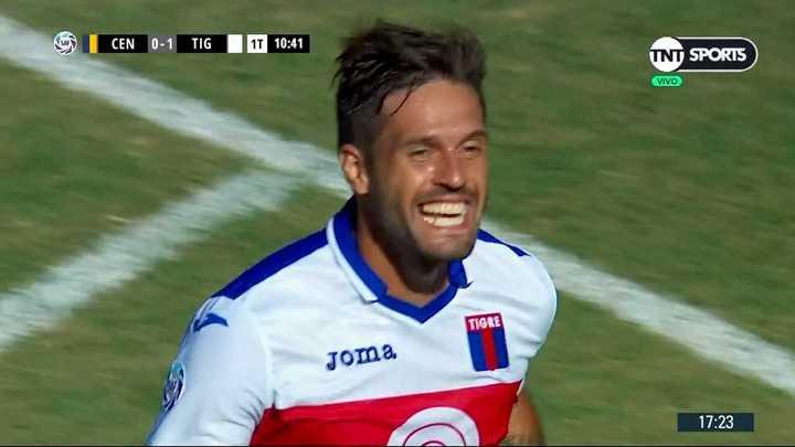 Gran gol de Fede González para poner en ventaja a Tigre