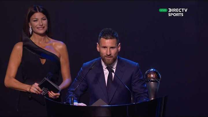 El discurso de Lionel Messi en los premios The Best (subtitulado)
