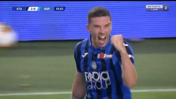 Atalanta marcó el 2 a 0