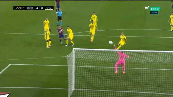 Messi no pudo con Asenjo