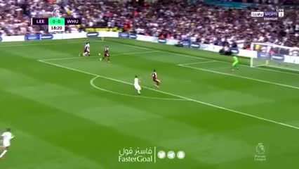 Raphinha y el 1-0 de Leeds ante West Ham