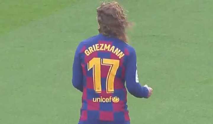 Griezmann marcó el 1 a 0 del Barcelona