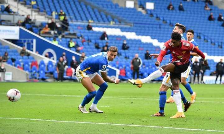 El golazo de Rashford para el 2-1 del Manchester United