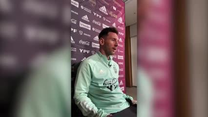 Conferencia completa de Messi