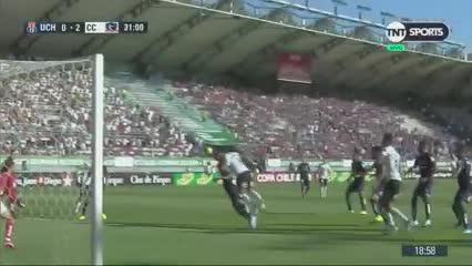 La victoria de Colo Colo 2 a 1 sobre la Universidad de Chile