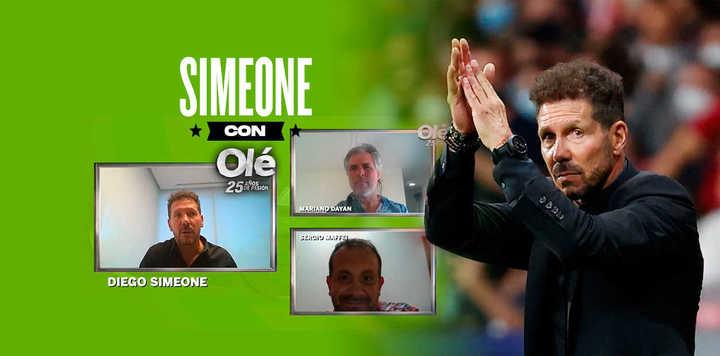 El Cholo Simeone y una entrevista imperdible