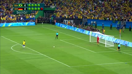 Neymar le dio el oro olímpico a Brasil.