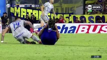 Herrera se fue expulsado