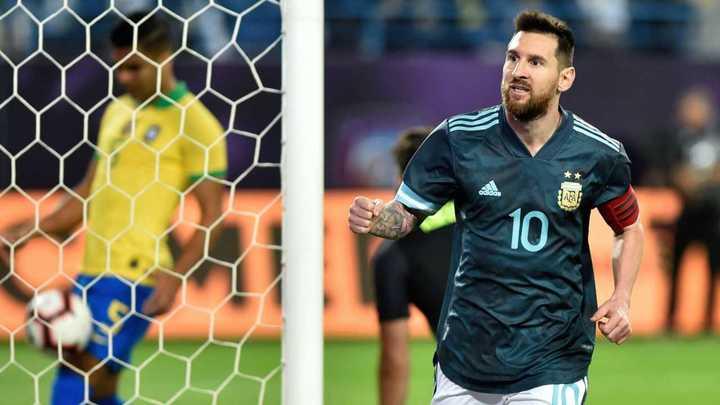 El partido de Lionel contra Brasil