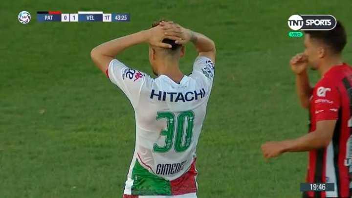 Giménez lo tuvo para Vélez