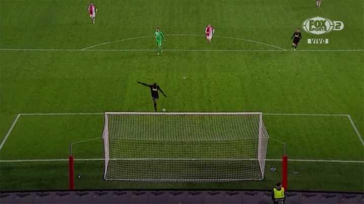 Lukaku marcó el segundo del Inter después de burlar al arquero