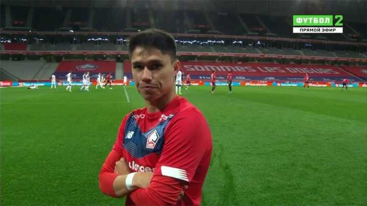 Empate del Lille 1 a 1 contra el Montpellier