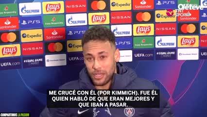 Neymar contó por qué festejó en la cara de Kimmich