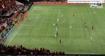 El gol de Fabio Escobar para que Atlanta le gane 1-0 a New England