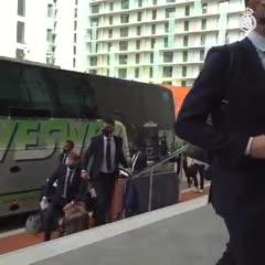 Real Madrid llegó a Manchester