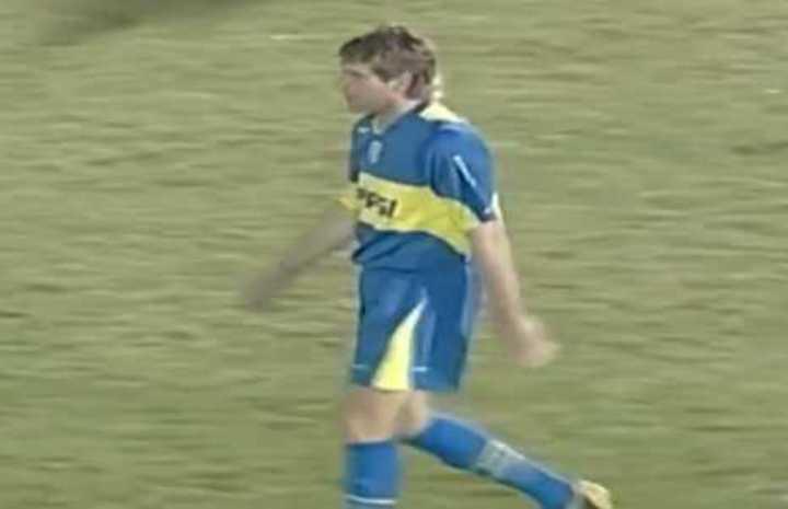 Gol de Palermo a Cerro con las dos piernas