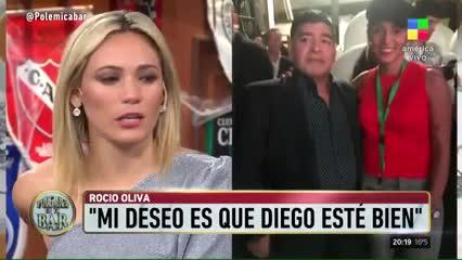 """Oliva: """"No lo vi bien a Diego"""""""