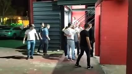 Pochettino llegó al Coloso para ver Newell's vs. River