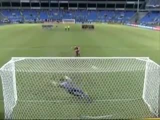 Los penales de Fluminense vs. Flamengo