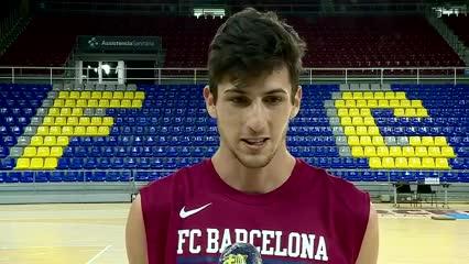 Bolmaro renovó con el Barcelona: ¿Y la NBA?