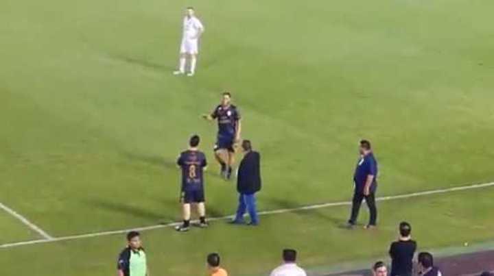 Ronaldinho en Cancún